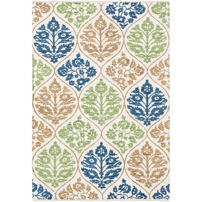 Deutsch Hand-Woven Area Rug Rug Size: Rectangle 4 x 6