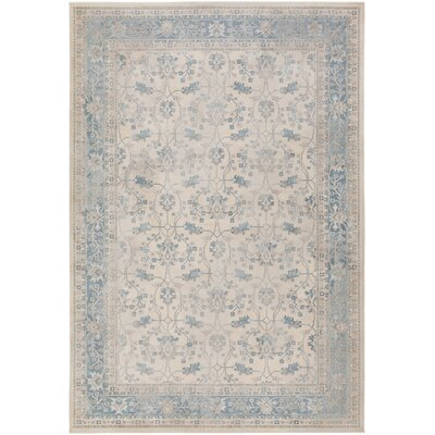 Kessinger Blue Area Rug Rug Size: Rectangle 710 x 103