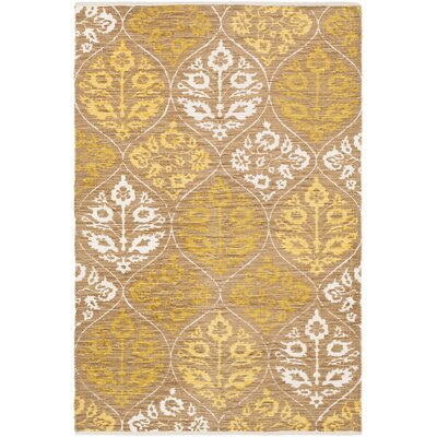 Deutsch Hand-Woven Area Rug Rug Size: Rectangle 2 x 3
