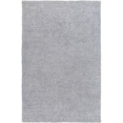 Eckman Light Gray Area Rug Rug Size: Rectangle 4 x 6