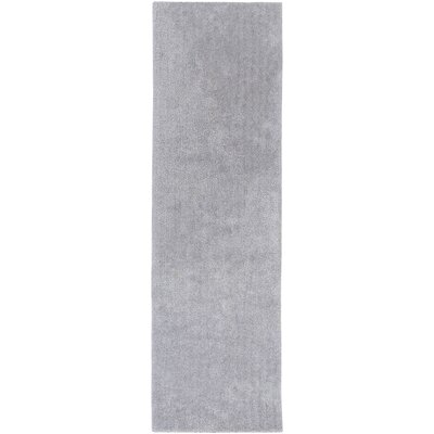 Eckman Light Gray Area Rug Rug Size: Runner 23 x 8