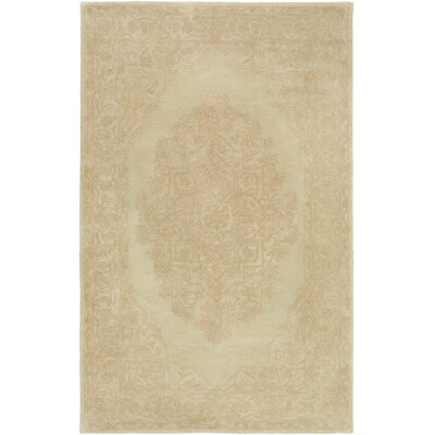 Farner Hand-Tufted Beige Area Rug Rug Size: Rectangle 4 x 6