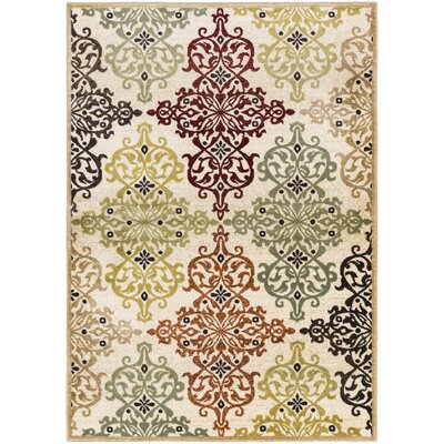 Durain Area Rug Rug Size: Rectangle 53 x 73