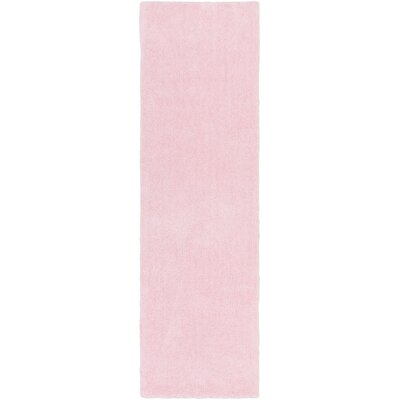 Eckman Light Pink Area Rug Rug Size: Runner 23 x 8