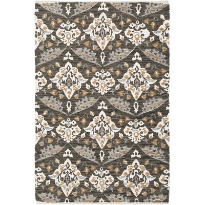 Dever Hand-Woven Area Rug Rug Size: Rectangle 5' x 7'6