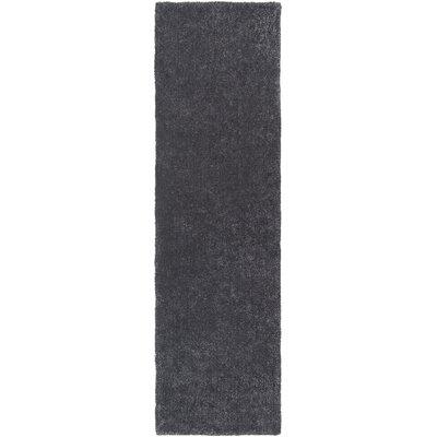 Eckman Onyx Area Rug Rug Size: Runner 23 x 8