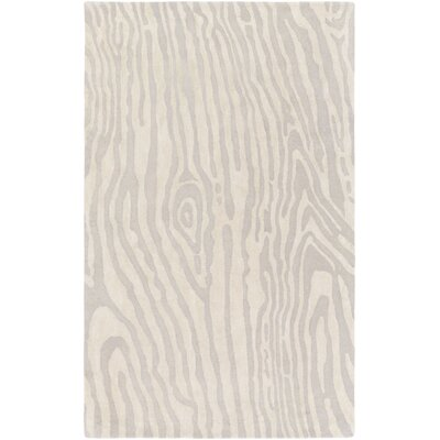 Geology Blake Hand-Tufted Gray Area Rug Rug Size: 9 x 13