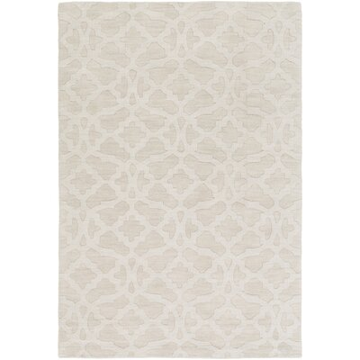 Dylan Handmade Ivory Area Rug Rug Size: Rectangle 3 x 5