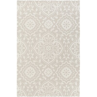 Kesler Ivory/Beige Area Rug Rug Size: Rectangle 5 x 76