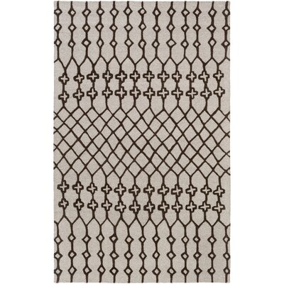 Littrell Hand-Tufted Tan Area Rug Rug Size: Rectangle 9 x 13