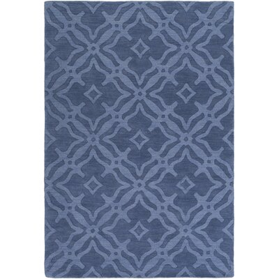 Dutchess Handmade Blue Area Rug Rug Size: Rectangle 4 x 6