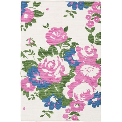 Elmsford Hand-Woven Area Rug Rug Size: Rectangle 4 x 6