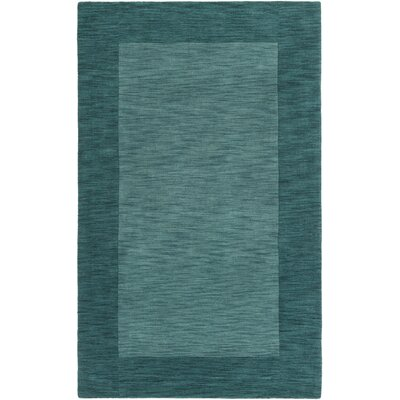 Allsopp Handmade Green Area Rug Rug Size: Rectangle 4 x 6