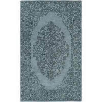 Farner Hand-Tufted Slate Area Rug Rug Size: Rectangle 8 x 10