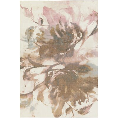 Bracewell Brown/Pink Area Rug Rug Size: Rectangle 5 x 76