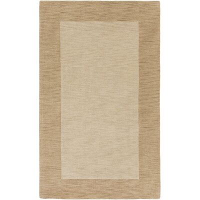 Allsopp Handmade Tan Area Rug Rug Size: Rectangle 8 x 10