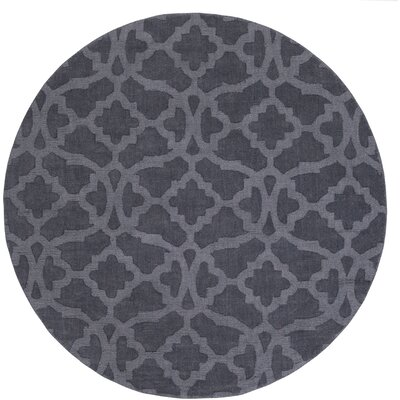 Dylan Handmade Blue Area Rug Rug Size: Round 6