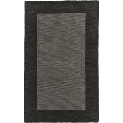 Allsopp Handmade Gray Area Rug Rug Size: Rectangle 5 x 8