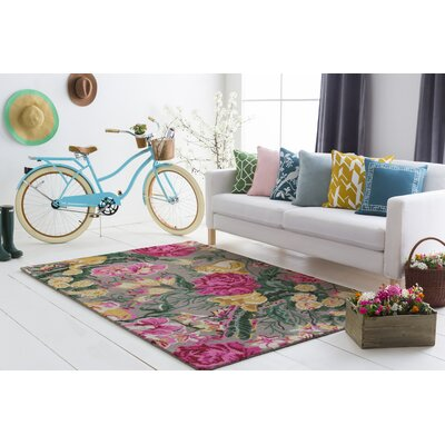Lacluta Hand-Tufted Area Rug Rug Size: Rectangle 5 x 76