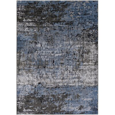 Savage Jace Blue Area Rug Rug Size: 711 x 103