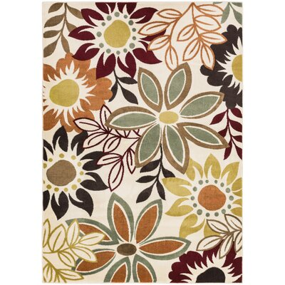 Muhammad Red Area Rug Rug Size: Rectangle 710 x 103