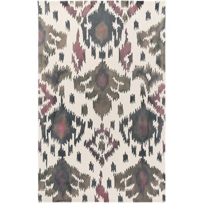Geology Skylar Hand-Tufted Gray Area Rug Rug Size: 8 x 10