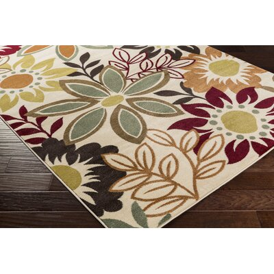 Muhammad Red Area Rug Rug Size: Runner 23 x 73