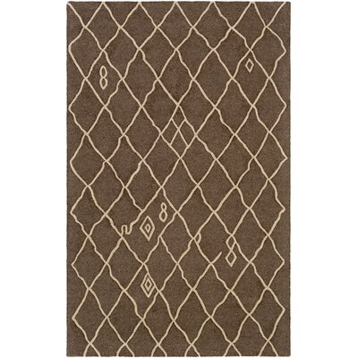 Juergens Hand-Tufted Nutmeg Area Rug Rug Size: Rectangle 5 x 8