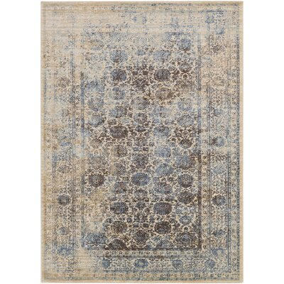 Dineen Brown Area Rug Rug Size: Rectangle 711 x 103