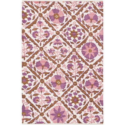 Pieniazek Hand-Woven Area Rug Rug Size: Rectangle 5 x 76
