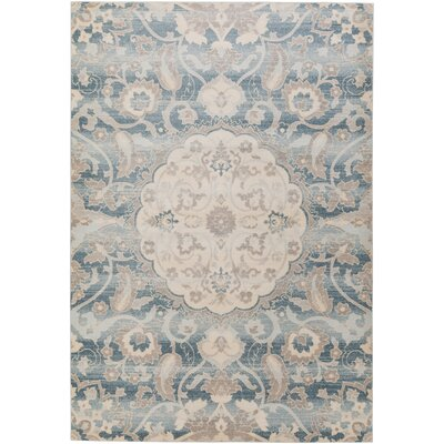Kershaw Multi-Colored Area Rug Rug Size: Rectangle 53 x 73