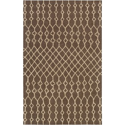 Littrell Hand-Tufted Taupe Area Rug Rug Size: Rectangle 4 x 6