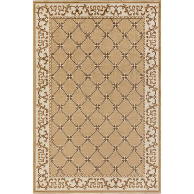 Pflugerville Brown Area Rug Rug Size: Rectangle 4 x 6