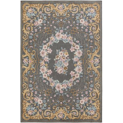 Picard Gray Area Rug Rug Size: Rectangle 5 x 76