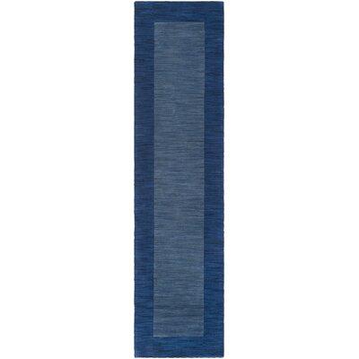 Allsopp Handmade Blue Area Rug Rug Size: Runner 2 x 8