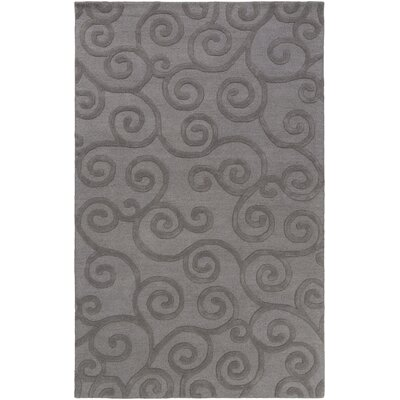 Alperton Hand-Tufted Gray Area Rug Rug Size: Rectangle 4 x 6