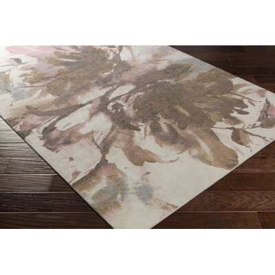 Bracewell Brown/Pink Area Rug Rug Size: Rectangle 8 x 10