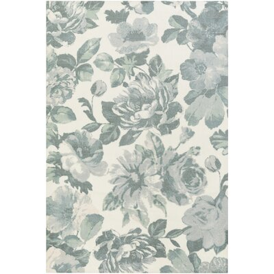 Madeline Camila Light Blue Area Rug Rug Size: Runner 26 x 8