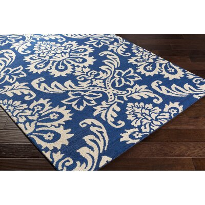 Kimberlin Hand-Tufted Blue Area Rug Rug Size: Runner 2 x 8