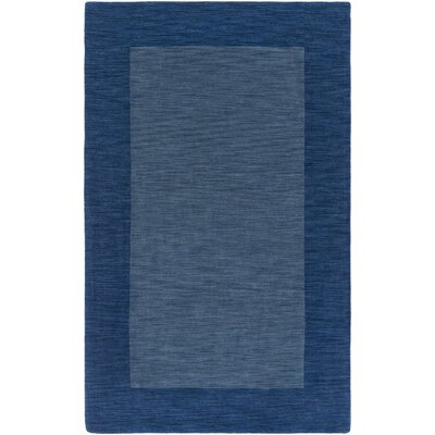 Allsopp Handmade Blue Area Rug Rug Size: Rectangle 5 x 8