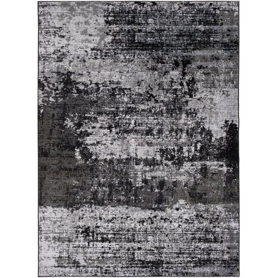 Savage Jace Gray Area Rug Rug Size: 53 x 73