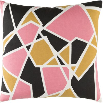 Carnes Geometric Cotton Throw Pillow