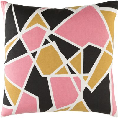 Carnes Geometric Cotton Throw Pillow Cover