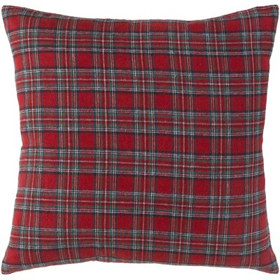 Lumberjack Preppy Cotton Throw Pillow