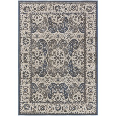 Eberly Slate/Gray Area Rug Rug Size: Rectangle 53 x 76