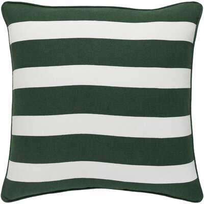 Holiday Jolly Cotton Throw Pillow