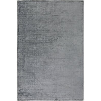 Charlotte Beverly Hand-Loomed Denim Blue Area Rug Rug Size: 76 x 96