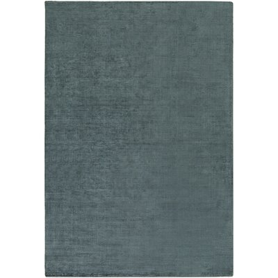Blosser Hand-Loomed Teal Area Rug Rug Size: Rectangle 8 x 11