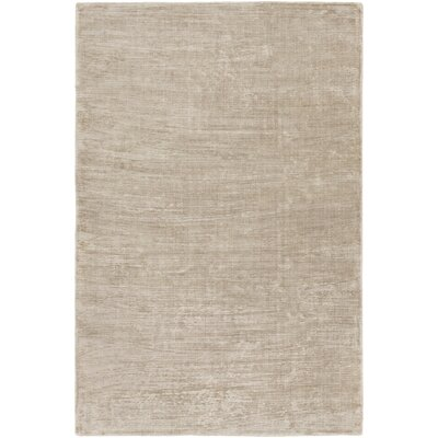 Blosser Hand-Loomed Taupe Area Rug Rug Size: Rectangle 2' x 3'