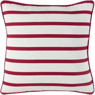 Draughn Cotton Throw Pillow Cover